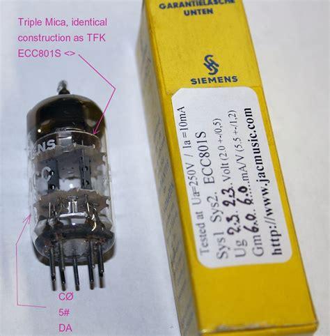 Nos Siemens E81cc ecc81 12at7 price list