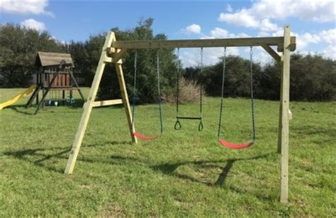 refurbished swing sets new and used wooden playsets forts and swing sets