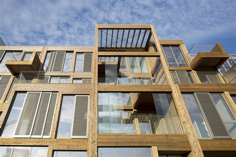 solar powered wooden lofts heated independently of amsterdam s grid inhabitat green design