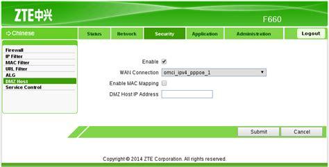Berapa Memasang Wifi Indihome setting indihome zte f660 dengan mikrotik menggunakan dmz
