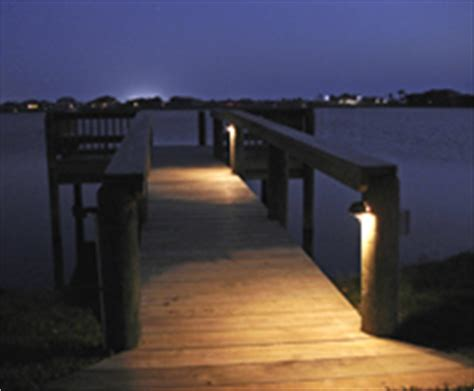 low voltage dock lights dock lighting enhances the look and safety of your