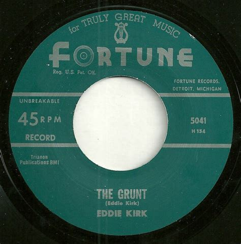 Northton Records Eddie Kirk S The Grunt A Detroit R N B Hump Day Scorcher City Slang