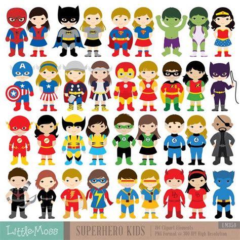 imagenes retro super heroes 36 kids superhero costumes clipart superheroes kids