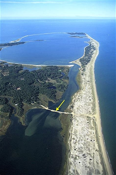 Chappaquiddick Location Airphoto Aerial Photograph Of Chappaquiddick Island Chappaquiddick Island Massachusetts 4639