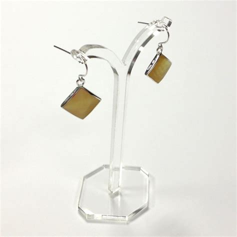 acrylic earring tree display stand large 10 5cm
