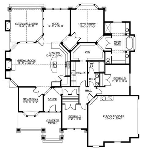 marymoor house plan marymoor 3245 3 bedrooms and 2 5 baths the house designers