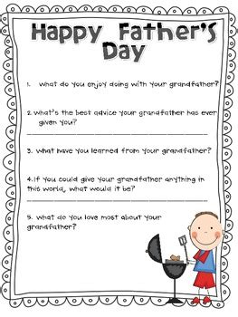 s day questions s day questions grandfather and