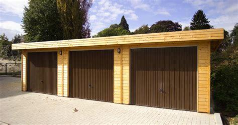 Porte Garage Bois by Garages En Bois Gardival S V L