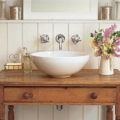 Tips For Using Repurposed Furniture As A Bathroom Sink Repurposed Furniture For Bathroom Vanity