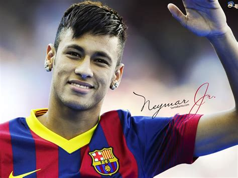 neymar new hair cuttphotos download in football hd wide wallpapers i footballers club players