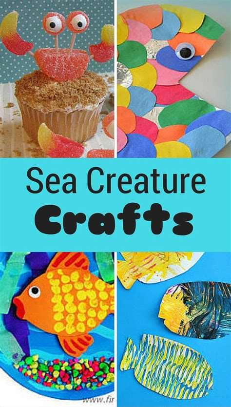 sea creature crafts for best 25 sea creatures for ideas on sea
