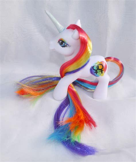 Pride Custom pride rainbow custom my pony by mayanbutterfly on deviantart