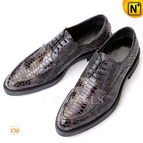patent oxford shoes mens print leather dress shoes cw751157