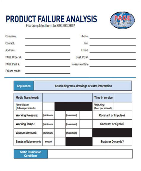 explanation report sle sle failure analysis report 28 images failure