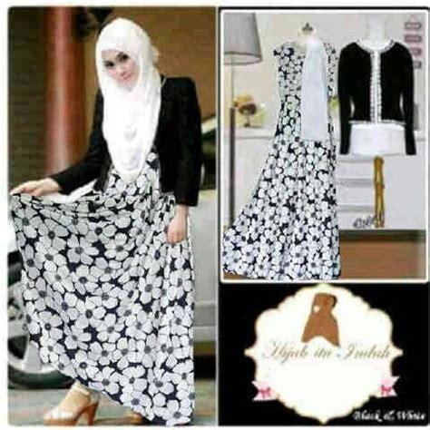 Dress Motif Bunga Dres Murah Dres Wanita Dres Mini Dres Elegan baju dress muslim modis model terbaru motif bunga murah