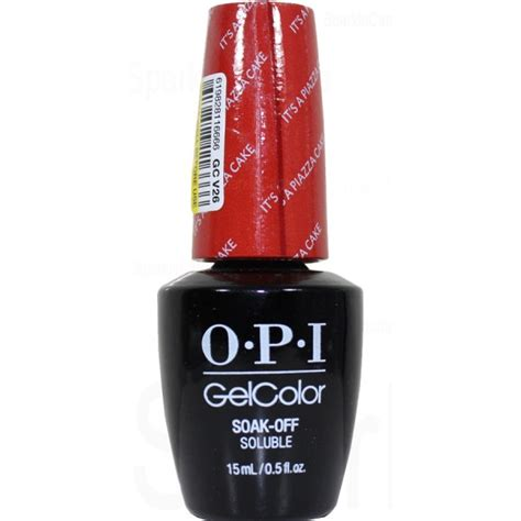 Opi It S A Piazza Cake Nail opi gel color it s a piazza cake by opi gel color gcv26