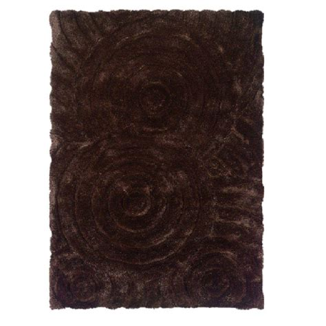 home accents rug collection linon home decor links collection chocolate 5 ft x 7 ft
