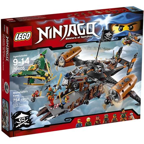 lego ninjago sets 70605 misfortune s keep new