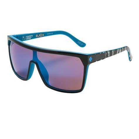 Sunglass Ken Block Black W Blue Lens optics flynn ken block livery sunglasses happy lenses for and in black happy
