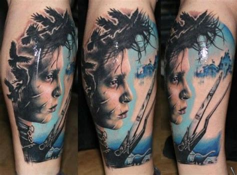 edward scissorhands tattoo 1000 images about tattoos on