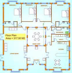 uk floor plans house plans uk 4 bed house plans