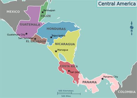 central america travel guide at wikivoyage