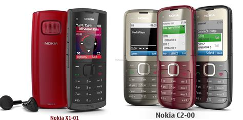 Nokia X1 00 Pictures dual sims nokia x1 01 and nokia c2 00 launched