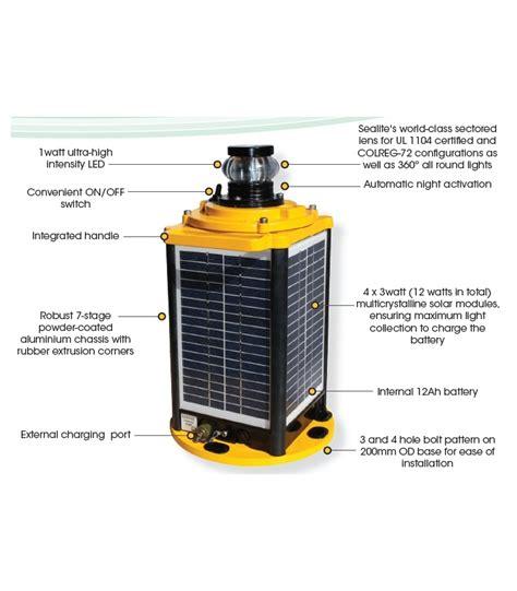 barge lights for sale sealite bargesafe solar 3nm solar led barge light