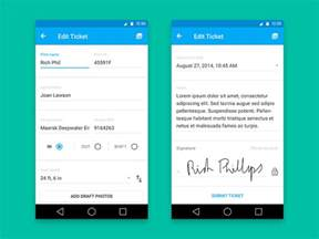 material design form materialup