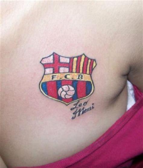 tattoo logo barca 31 tatuajes del f 250 tbol club barcelona para hinchas cul 233 s