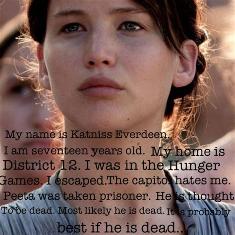 my name is katniss everdeen hunger games pinterest