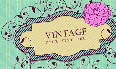 imágenes vintage para descargar vectores con motivos primaverales kabytes