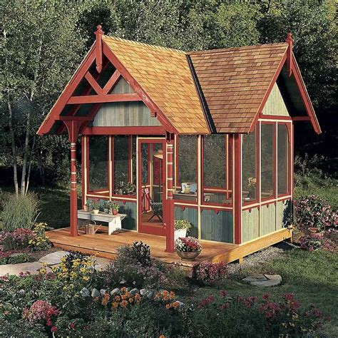 tips  turning  shed   tiny hideaway