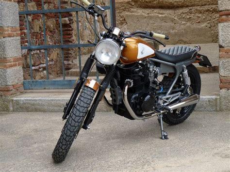 Honda CB450DX Tracker by Motobike Badajoz   autoevolution