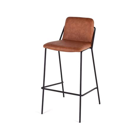 sling bar stools sling bar stool walnut black m a d furniture touch of modern