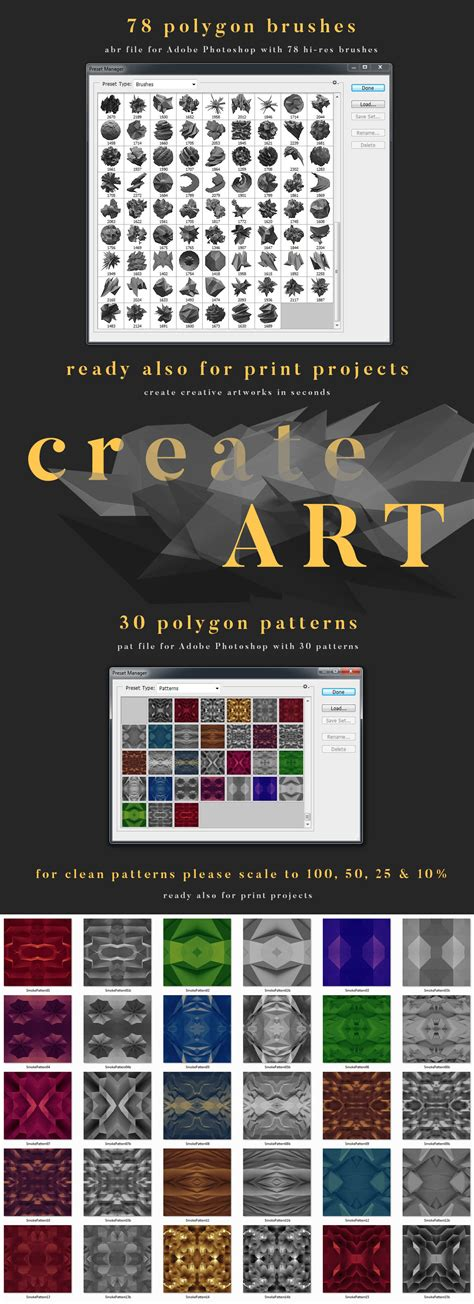 extend pattern in photoshop polygonal toolkit dealjumbo com discounted design