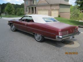 Pontiac Grandville Convertible For Sale Pontiac Grandville Convertible 1973 For Sale Photos