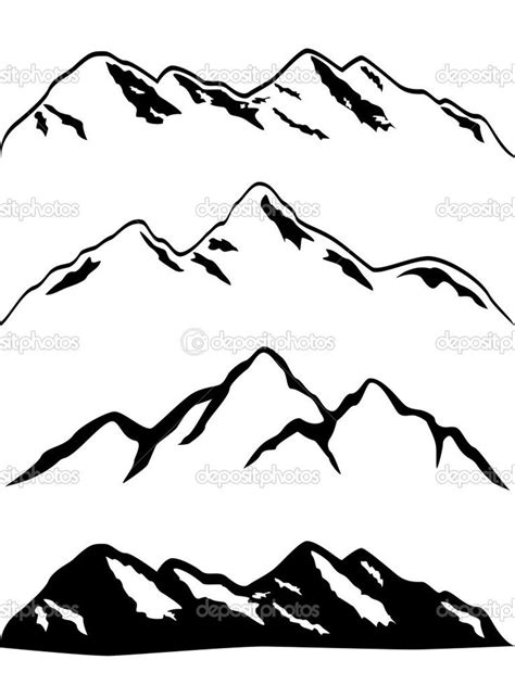 pikes peak silhouette clipart   cliparts  images  clipground