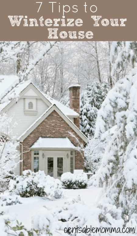 get your house in shape this winter seven things you must fix 7 tips to winterize your house centsable momma