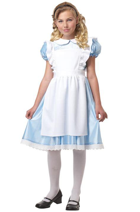 alice in wonderland costume alice in wonderland costumes alice in wonderland child costume purecostumes com