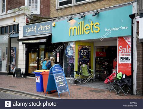 millets shop stock photos millets shop stock images alamy