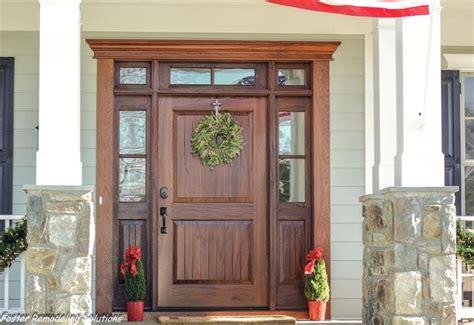 used exterior doors mahogany entry doors by clingerman doors custom wood