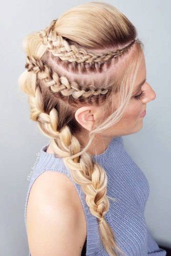 boring french braid hairstyles   hair type  stylish zoo