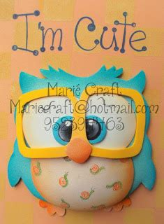 Boneka Owl Putih ai craft owl gaul
