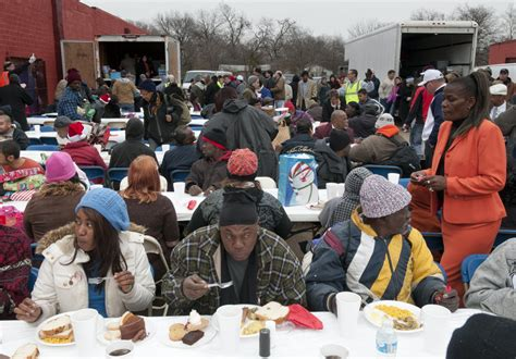 church helping the poor