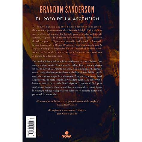 leer libro el pozo de la ascension mistborn trilogy en linea mistborn ii el pozo de la ascensi 243 n libro sanborns