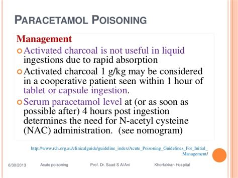 Http Naturalsociety Health Benefits Of Activated Charcoal Medicine Detox by Acute Poisoning Guidelines For Initial Management