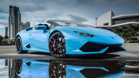 lamborghini sedan lamborghini huracan lp 610 4 spyder wallpaper hd car