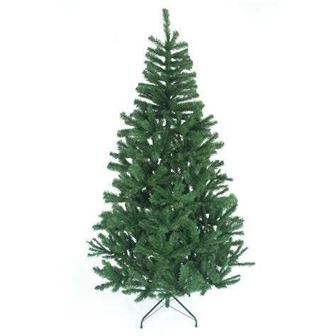 big traditional green 6 8 ft christmas tree artificial