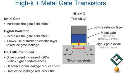 transistor gate leakage intel closer to 45nm penryn processor production legit reviewsintel shows 45nm
